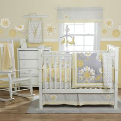 grey yellow nursery