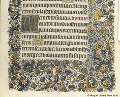 Book of Hours, MS M.854 fol. 81r - Images from Medieval and Renaissance Manuscripts - The Morgan Library & Museum