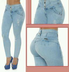 0d1af90948 Details about NEW Indra Powernet Jeans REDU fajas colombianas levanta cola  pompi 9109 SHAPER
