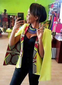 Parce qu'elle est incontournable sur la scène Mode africaine du moment, et ce depuis ses débuts en 2012. Quand on recherche des tenues en wax...