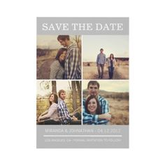 Save The Date Announcements