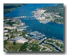 Sturgeon Bay, WI-went to high school here..my daughter Colleen was born here.