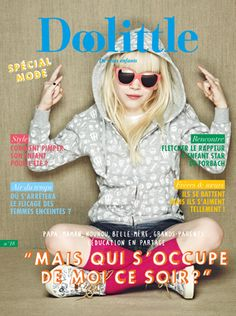 Doolittle n°18 kids magazine cover