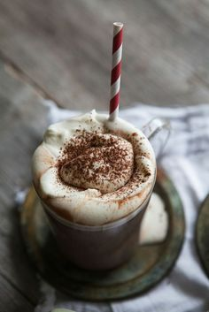 Spicy Hot Chocolate with Baileys, Cardamom & Cinnamon