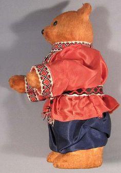 Toy Doll Bear Clockwork Wind Up Vintage Soviet Russian Old USSR Animal | eBay
