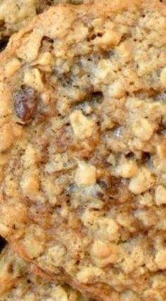 Laura Bush's Texas Governor's Mansion Cowboy Cookies ~ Chewy and hearty, they are loaded with oats, coconut, pecans and chocolate chips... So, so good.