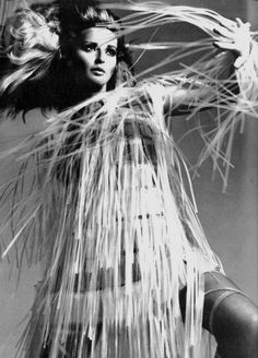 Samantha Jones by Bert Stern for Voge Italia, 1967.