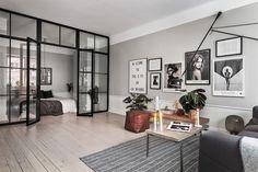 black steel en suite doors with glass skandiamaklarna.se