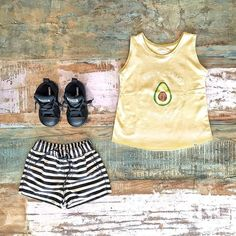 Children of the Tribe avocado singlet, Toddler Boys Clothes ~ Beau Hudson stripe shorts & Converse axel mid sneakers [shop link below]  www.tinystyle.com.au