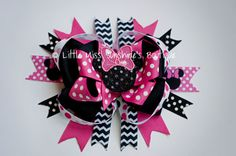 Minnie Mouse Bow on Etsy, $15.00