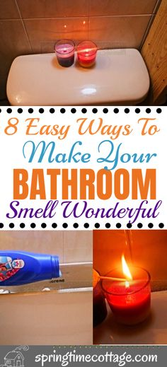 After cleaning, you want to enjoy some wonderful scents in the house. The bathroom is the place in the home that kicks up a stench very often. Here are some smart tips to keep your bathroom smelling wonderful! House Cleaning Tips, Diy Cleaning Products, Cleaning Solutions, Spring Cleaning, Cleaning Hacks, Smelly Bathroom, Bathroom Cleaning, House Smell Good, House Smells