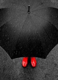 35 Trendy ideas for photography black and white rain color splash Color Splash, Color Pop, Black Splash, Walking In The Rain, Singing In The Rain, I Love Rain, Rain Photography, Rainy Day Photography, Color Photography