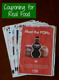 Couponing for Real Food   Real Food Real Deals #healthy #frugal