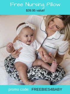 Get a FREE Nursing Pillow ($39.95 value)! Use code:  FREEBIES4BABY to get a $40 credit.  Go Here => http://freebies-for-baby.com/4571/424-worth-free-baby-stuff/ #NursingPillow #BoppyPillow #FreeBabyStuff