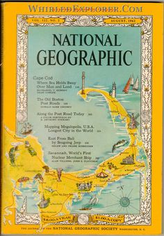 National Geographic, August 1962