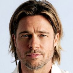 Brad Pitt rockin the long hair. Very nice Brad Pitt rockin the long hair. Growing Long Hair Men, Growing Your Hair Out, Grow Long Hair, Long Hair Cuts, Men's Hair Long, Men With Long Hair, Grow Hair, Short Hair, Long Hair Beard