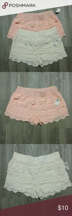 Selling this Crochet Shorts on Poshmark! My username is: briellesbarn. #shopmycloset #poshmark #fashion #shopping #style #forsale #No Boundaries #Pants