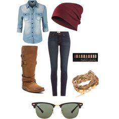 A fashion look from August 2015 featuring LE3NO tops, Paige Denim jeans and Durango boots. Browse and shop related looks.
