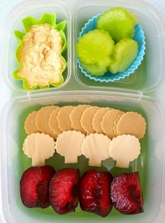 Easy lunch bentos
