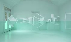 Artist Constructs Life-Size Optical Illusion Room, We Cant Stop Staring At It
