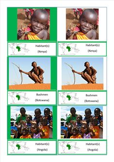 cartes nomenclature habitants Afrique Europe2