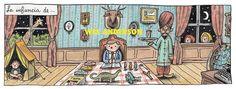 A infância de Wes Anderson, segundo Liniers