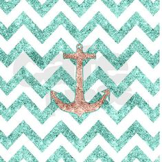 Coral Glitter Nautical Anchor Teal Shower Curtain by GirlyTrend – CafePress - allwit. Glitter Shower Curtain, Teal Shower Curtains, Custom Shower Curtains, Nautical Bathrooms, Seaside Bathroom, New Toilet, Shower Rod, Nautical Anchor, Prints