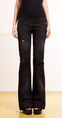 BALMAIN JEANS @Michelle Flynn Coleman-HERS except for the wholes