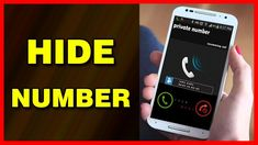 How to hide your caller ID / Number on Android Android Tutorials, Video Tutorials, Caller Id, Galaxy Note 5, Numbers, Samsung, Phone, Tech, Telephone