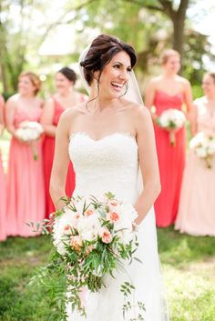 Beautiful bride: http://www.stylemepretty.com/2015/04/21/rustic-chic-farmhouse-wedding/ | Photography: Katelyn James - http://katelynjames.com/