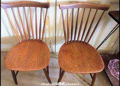 Stühle - 2 x Pastoe design 60er Stühle Teakholz - ein Designerstück von elisabethUNDjohannes bei DaWanda SOLD, VERKAUFT, VERKOCHT