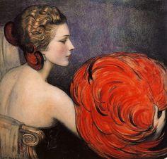 W. T. Benda - Illustration for Life. 1923