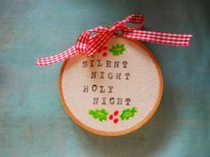 Sweet Tidings: Holiday DIY: Christmas Carol Ornament