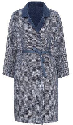 Loro Piana Melvin alpaca and wool-blend coat
