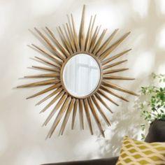 Sunray Mirror, 34 in. | Kirklands  For the Master Bedroom renovation.