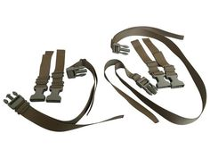 Mounting Kit for RIP-M - Adjustable MOLLE 1 Inch Webbing Straps with Side Release Buckles