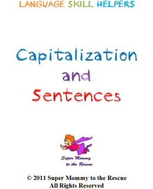 I am working on a series of Language Skill Helpers. My first book in the series is Capitalization and Sentences. Incomplete Sentences, Future Classroom, Classroom Ideas, Teaching Tools, Teaching Ideas, Social Studies, Language Arts, Literacy, Homeschool