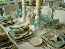 Ocean Themed Occasions - love these place settings!