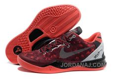 http://www.jordanaj.com/nike-zoom-kobe-viii-mens-red-silver-cheap-to-buy.html NIKE ZOOM KOBE VIII MENS RED SILVER CHEAP TO BUY Only $119.00 , Free Shipping!