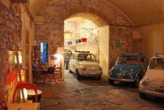 DESIGNWALI: Vintage Fiat garage anyone?