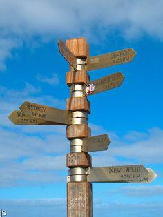 Cape of Good Hope - fingerpost