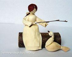 куклы из кукурузы своими руками
