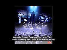 Genesis: Carpet Crawlers/The Lamb Tour Live in Wembley 1975 BBC Rare Broadcasting