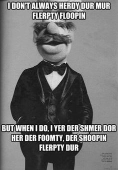 Most intersting Muppet...