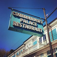 """See 1293 photos and 315 tips from 12337 visitors to Commander's Palace. """"Ignore anyone who says not to spoil your appetite on the bread basket: The. Famous New Orleans Restaurants, Turtle Soup, Braised Pork Belly, Fried Oysters, Tomato Jam, Root Beer, Whisper, Four Square, Flags"""