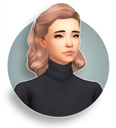 Pulled Up curls recolours at Seven Sims • Sims 4 Updates