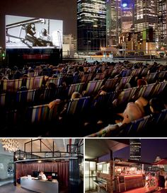 Rooftop Bar & Cinema – Melbourne, Australia