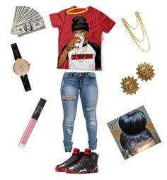 """""""Marvin The Martian Outfit"""" by baybeebrii on Polyvore featuring Barbour, Chanel and NARS Cosmetics"""