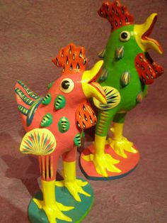 mexican ortega clay chickens - Google Search
