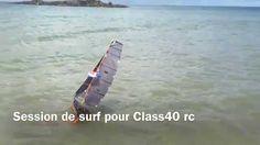 Session de surf pour Class40rc
